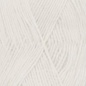 DROPS Fabel Uni Colour garn - 50g - Natur (100)