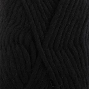 DROPS Eskimo Uni Colour garn - 50g - Svart (02)