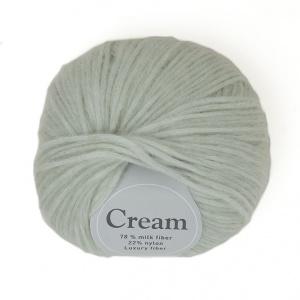 Viking garn Cream 50g – Exklusiv Fiber Mintgrön (134)