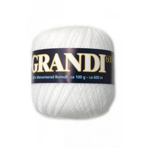 Grandi garn - 100g - Vit (1101)