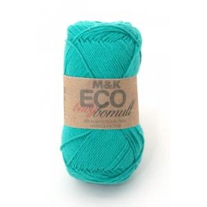 M&K Eco Baby Bomull garn - 50g - Smaragdgrön (916)