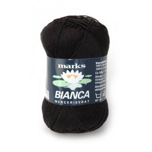 Bianca garn - 50g - Svart (51)