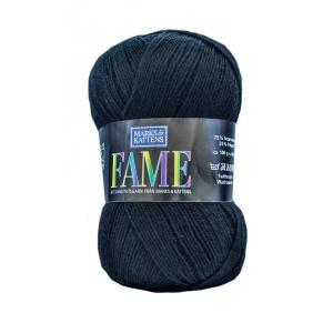 Fame garn - 100g - Svart (622)
