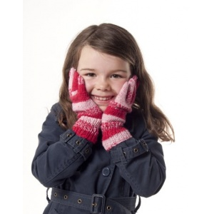 Stickmönster - vantar och sockor till hela familjen