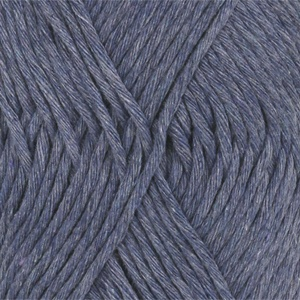 DROPS Cotton Light Uni Colour garn - 50g - Jeansblå (26)