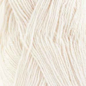 DROPS Babyalpaca Silk Uni Colour garn - 50g - Vit (1101)