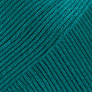 DROPS Muskat Uni Colour garn – 50g – Petrol (74)