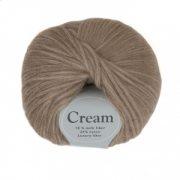 Viking garn Cream 50g - Exklusiv Fiber Brunbeige (108)