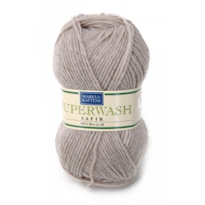 Superwash Safir garn - 50g - Beige (505)