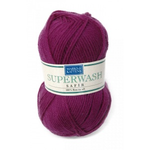 Superwash Safir garn - 50g - Lila (1505)