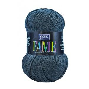 Fame garn - 100g - Mörkgrå (616)