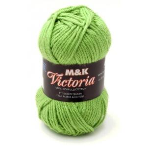 M&K Victoria garn - 50g - äppelgrön (765)