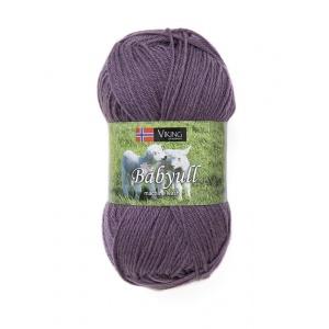 Viking garn Baby Ull 50g Syren (378)
