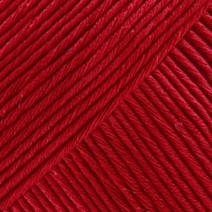 DROPS Muskat Uni Colour garn - 50g - Vinröd (41)