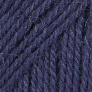 DROPS Flora Uni Colour garn - 50g - Mörkblå (10)