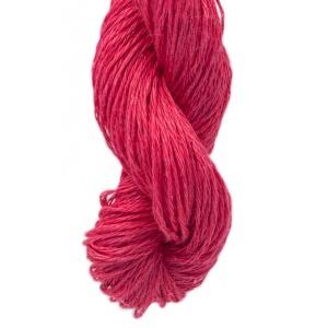 M&K Linen garn - 50g - Röd (954)