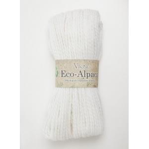 Viking garn Eco Alpaca 100g Vit (400)