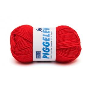 Piggelen garn - 25g - Röd (172)