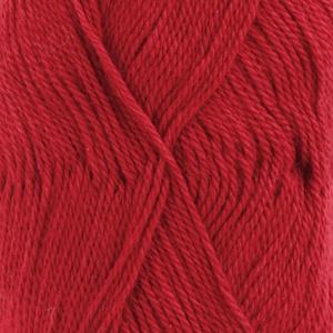 DROPS Babyalpaca Silk Uni Colour garn - 50g - Röd (3609)