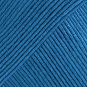 DROPS Muskat Uni Colour garn - 50g - Kornblå (15)