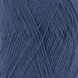 DROPS Fabel Uni Colour garn - 50g - Kungsblå (108)