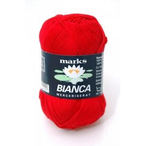 Bianca garn - 50g - Ljusröd (49)