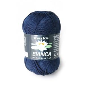 Bianca garn - 50g - Mörkblå (64)