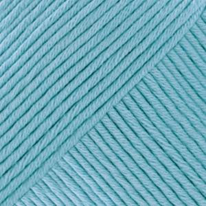DROPS Muskat Uni Colour garn - 50g - Ljus blå (02)