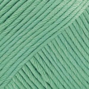 DROPS Muskat Uni Colour garn - 50g - Mintgrön (03)