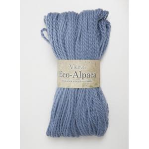 Viking garn Eco Alpaca 100g Blå (423)