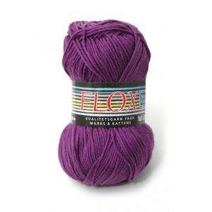 Flox garn - 50g - Plommon (2024)