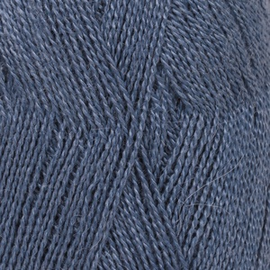 DROPS Lace Uni Colour garn - 50g - Kungsblå (6790)