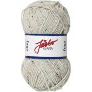 Fuga garn 50g Ljusgrå Tweed