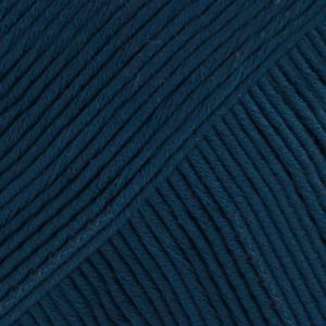 DROPS Muskat Uni Colour garn – 50g – Marinblå (13)