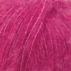 DROPS Brushed Alpaca Silk garn - 25g - Cerise (18)