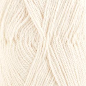 DROPS Babyalpaca Silk Uni Colour garn - 50g - Natur (0100)