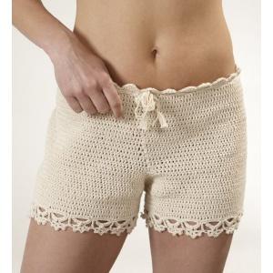 Virkmönster - Virkade shorts